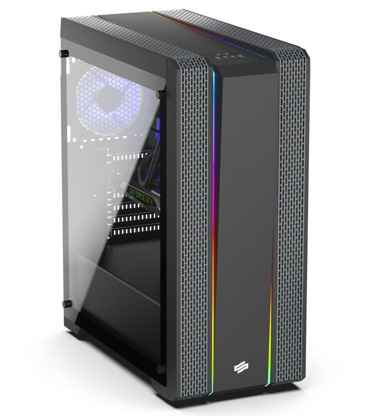 SilentiumPC Rolls Out Gladius GD8 TG ARGB Pure Black Case