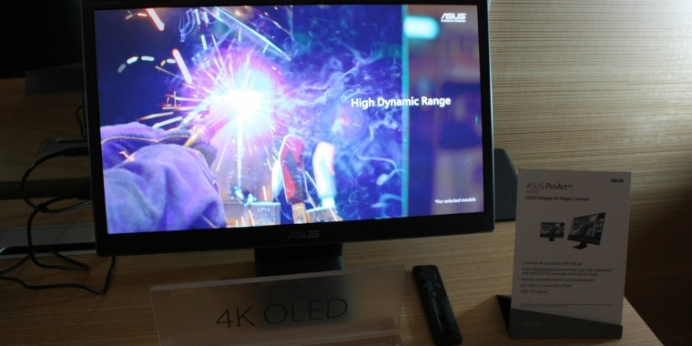JOLED Announces OLED Panels for PC Monitors, Expected to Hit the Market in 2019