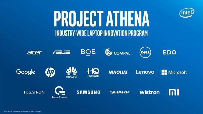 intel project athena innovation companions