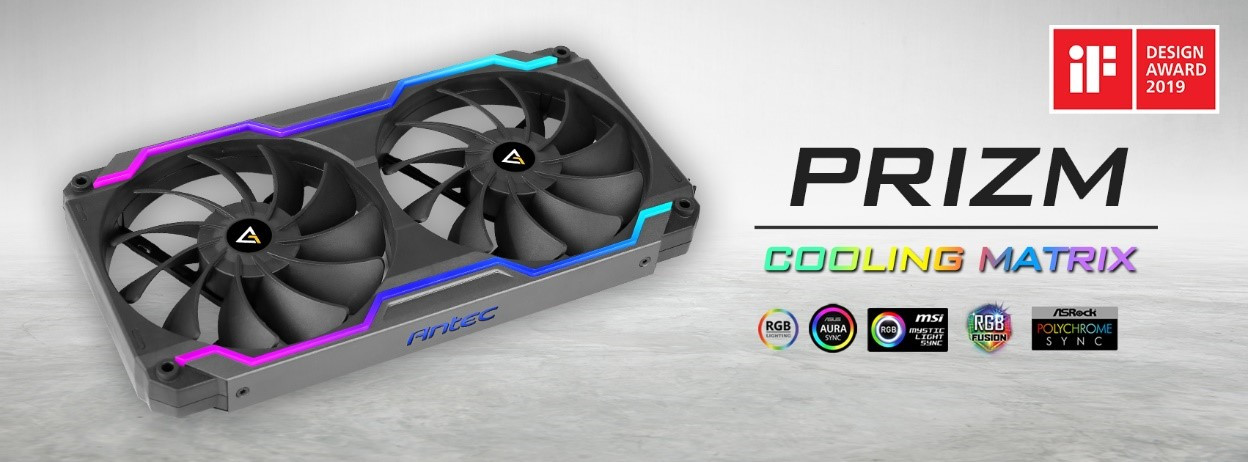 (PR) Antec Announces Prizm Cooling Matrix Compound Fans