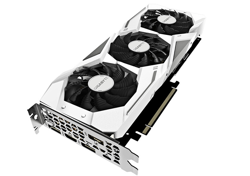 GIGABYTE Outs GeForce RTX 2070 Gaming OC White Graphics Card