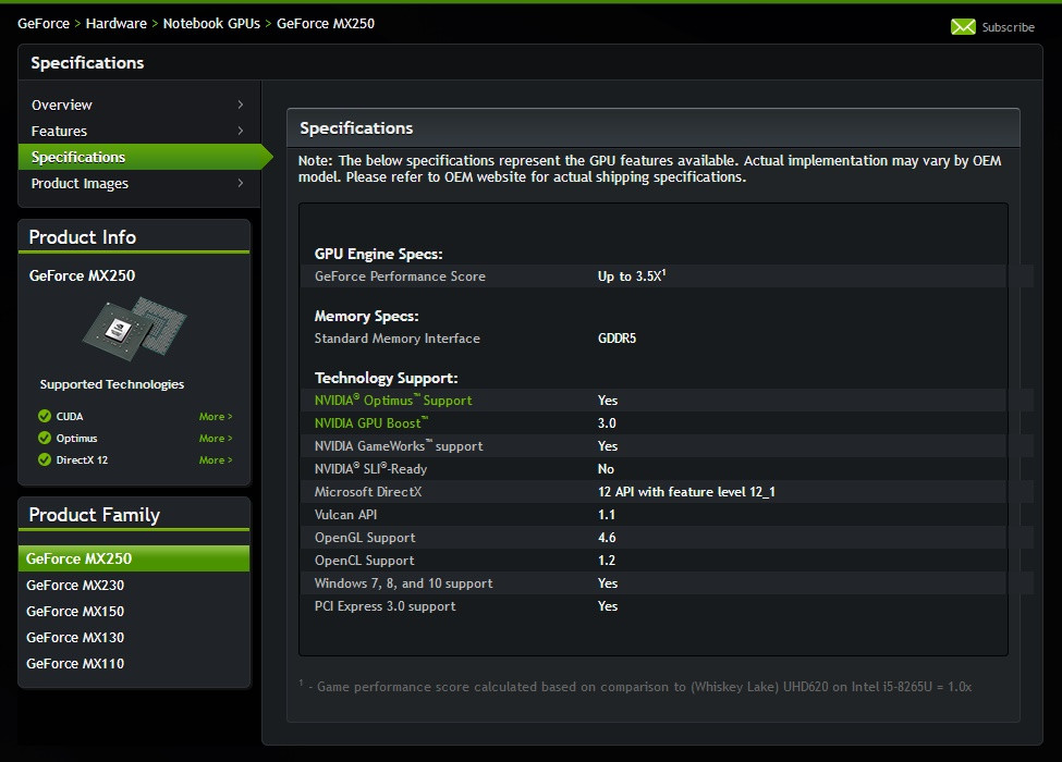 NVIDIA Adds New Options to Its MX200 Mobile Graphics Solutions – MX250 and MX230