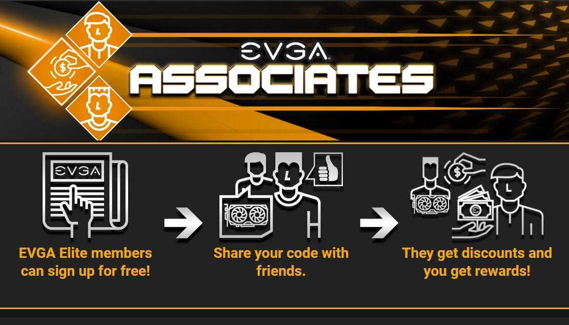 (PR) EVGA Announces Associates Program – Get Discounts and Earn Rewards