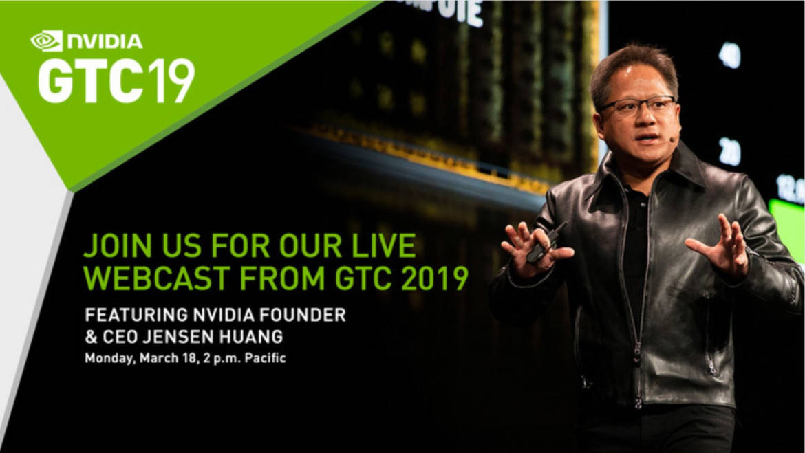 NVIDIA GTC 2019 Kicks Off Later Today, New GPU Architecture Tease Expected