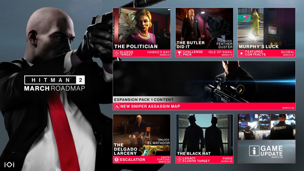 Hitman 2 to Get DirectX 12 Renderer Through a Patch Later Today