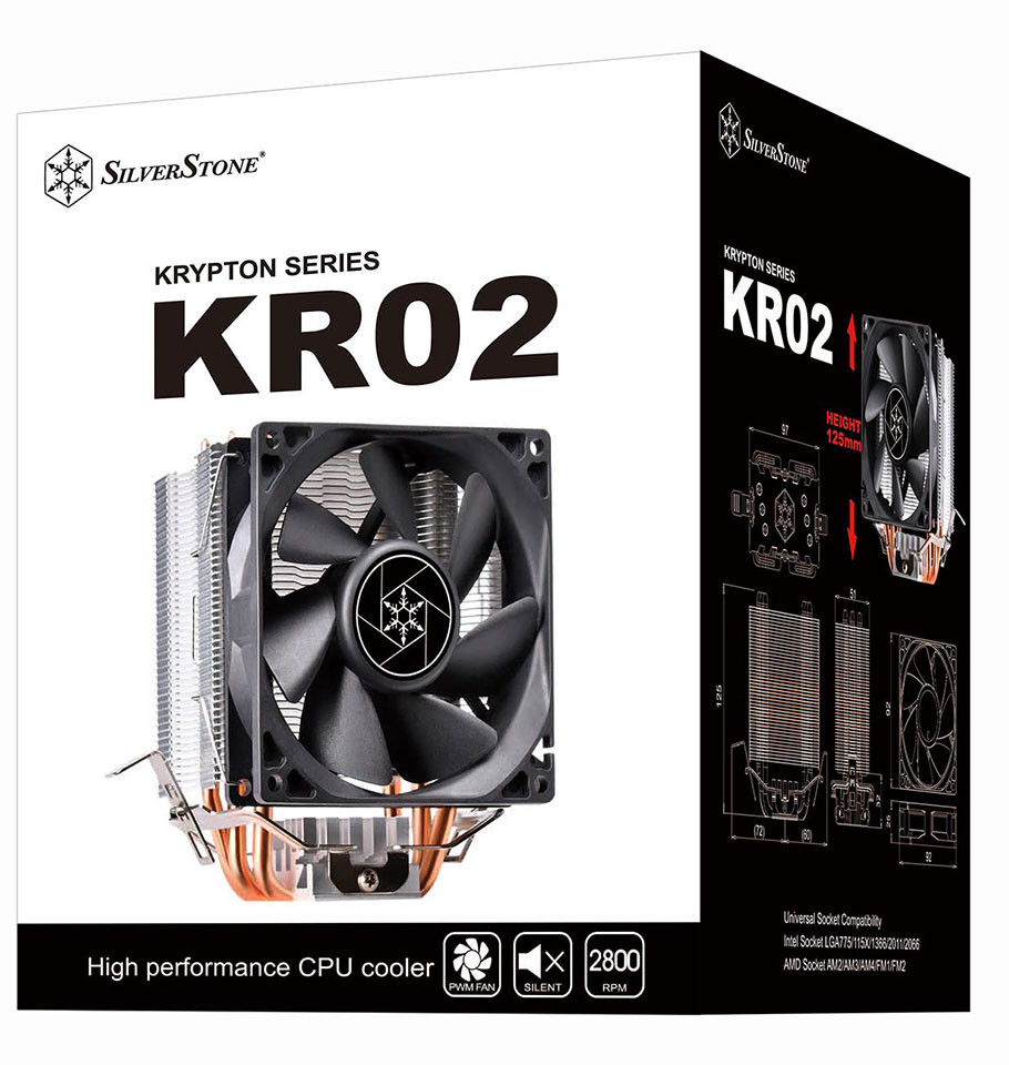 SilverStone Rolls Out the Krypton KR02 CPU Cooler