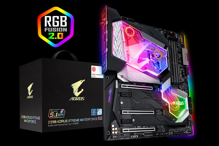 Gigabyte to Bundle Overclocked, Cherry-picked Intel Core i9-9900K With $900 Z390 Aorus Xtreme Waterforce