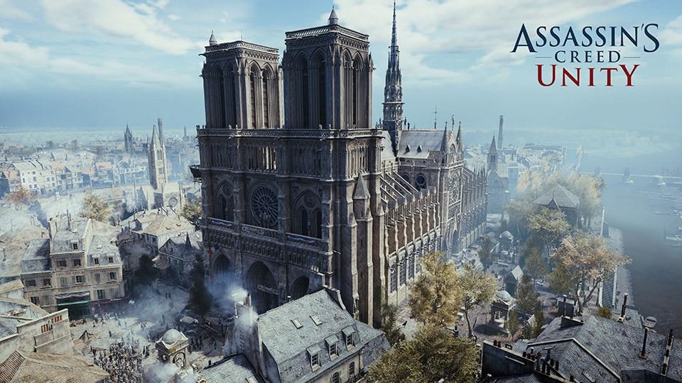 "(PR) Ubisoft Makes ""Assassin's Creed Unity"" Free in Honor of Notre-Dame de Paris"