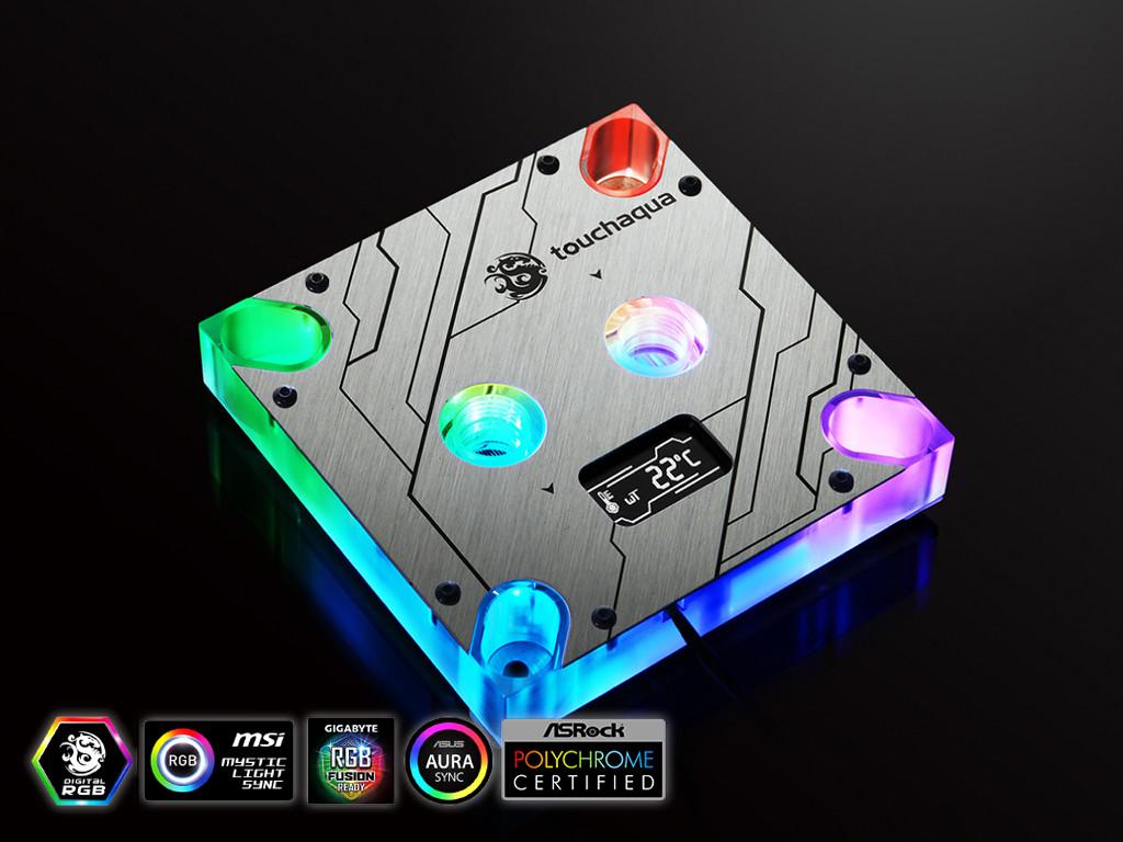 (PR) Bitspower Launches New CPU Block- Summit MS OLED- For Intel Platform