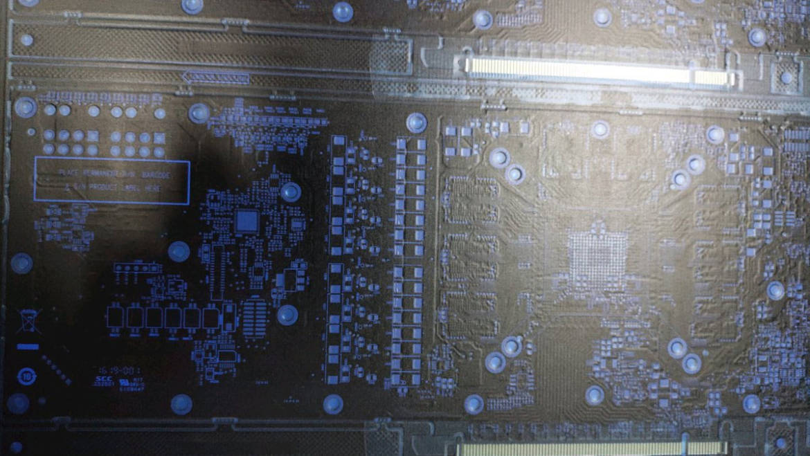 """AMD """"Navi"""" Graphics Card PCB Pictured"""