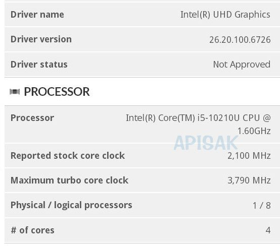 Intel to Use 5-digit Processor Model Numbering with 10th Gen?