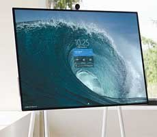 Microsoft Surface Hub 2S Collaborative Monitor Aims At The Office, Ships in June