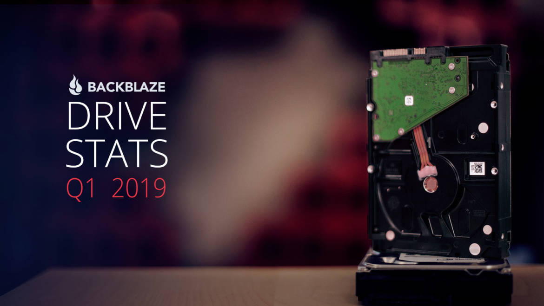 (PR) Backblaze Releases Hard Drive Stats for Q1 2019