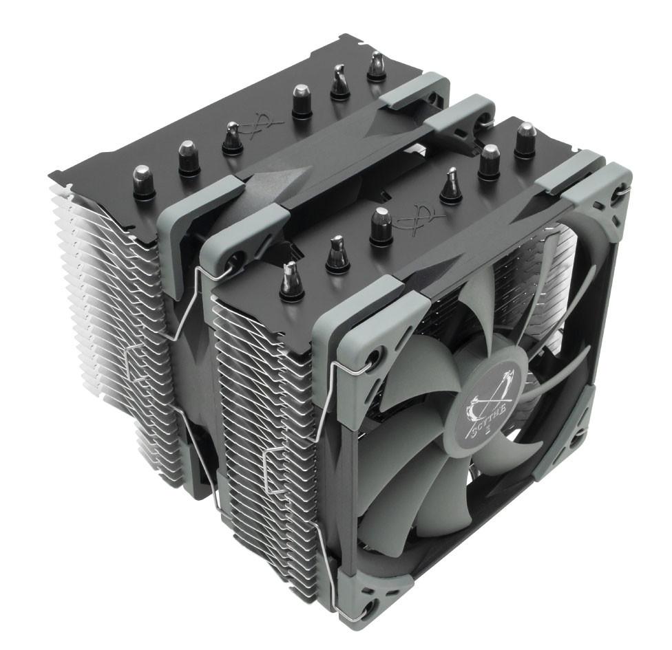 (PR) Scythe Announces the Fuma 2 Dual Tower-type CPU Cooler