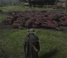 Red Dead Online Is Disturbingly Filling Up With Burned Horse Carcasses