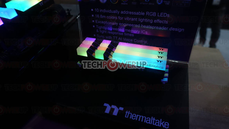 (PR) Thermaltake at Computex: TOUGHRAM RGB / TOUGHRAM DDR4 Memory