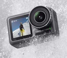 DJI Osmo Lunge Unleashed To Discover Lunge Camera Strive against To GoPro
