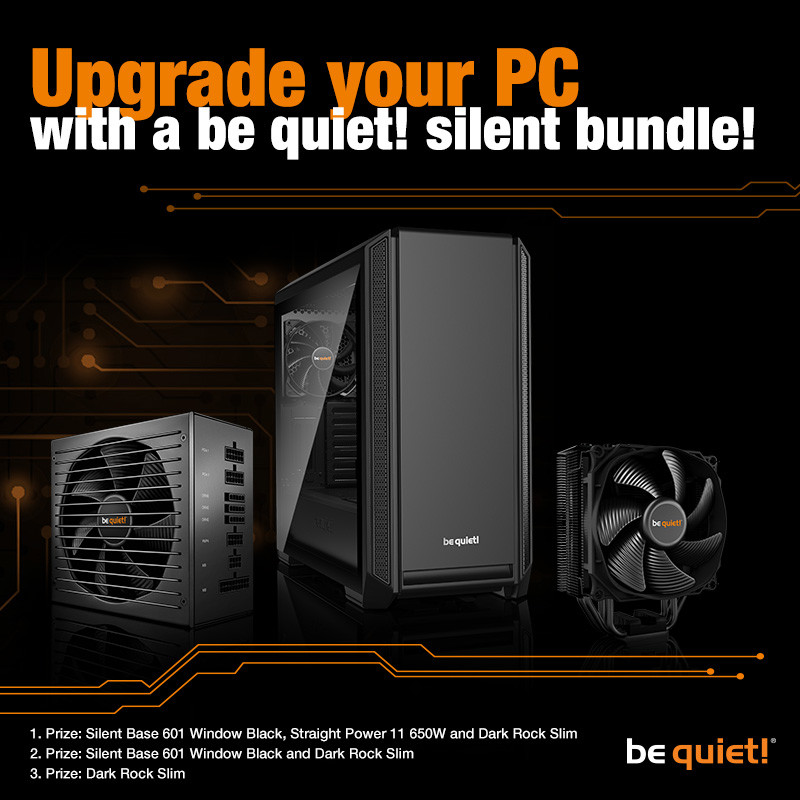 TechPowerUp and Be Quiet! Present Upgrade Kit Giveaway