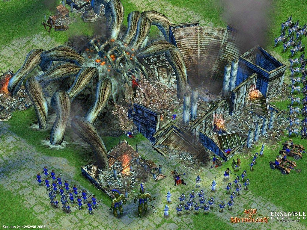Microsoft to Revisit Age of Mythology After Age of Empires Definitive Editions, AOE 4