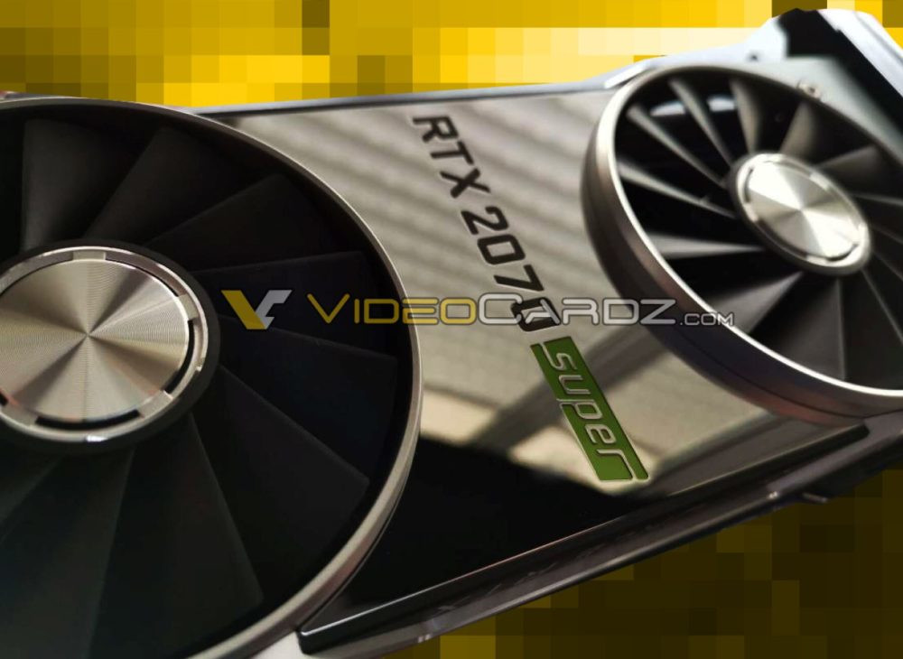 NVIDIA RTX 2070 SUPER Pictured for the First Time