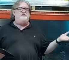 Gabe Newell Drops Subtle Half-Life 3 Hint During Valve Index Launch Party