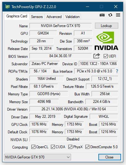 TechPowerUp GPU-Z 2.22.0 Released