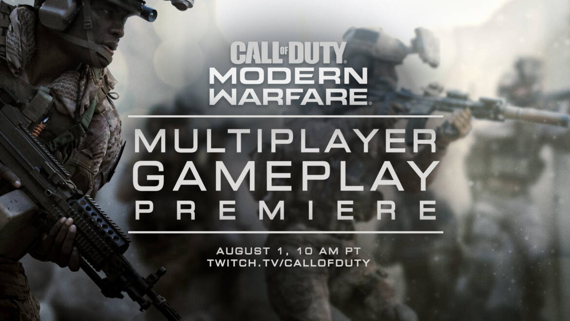 (PR) Call of Duty: Modern Warfare Multiplayer Universe to Be Revealed August 1