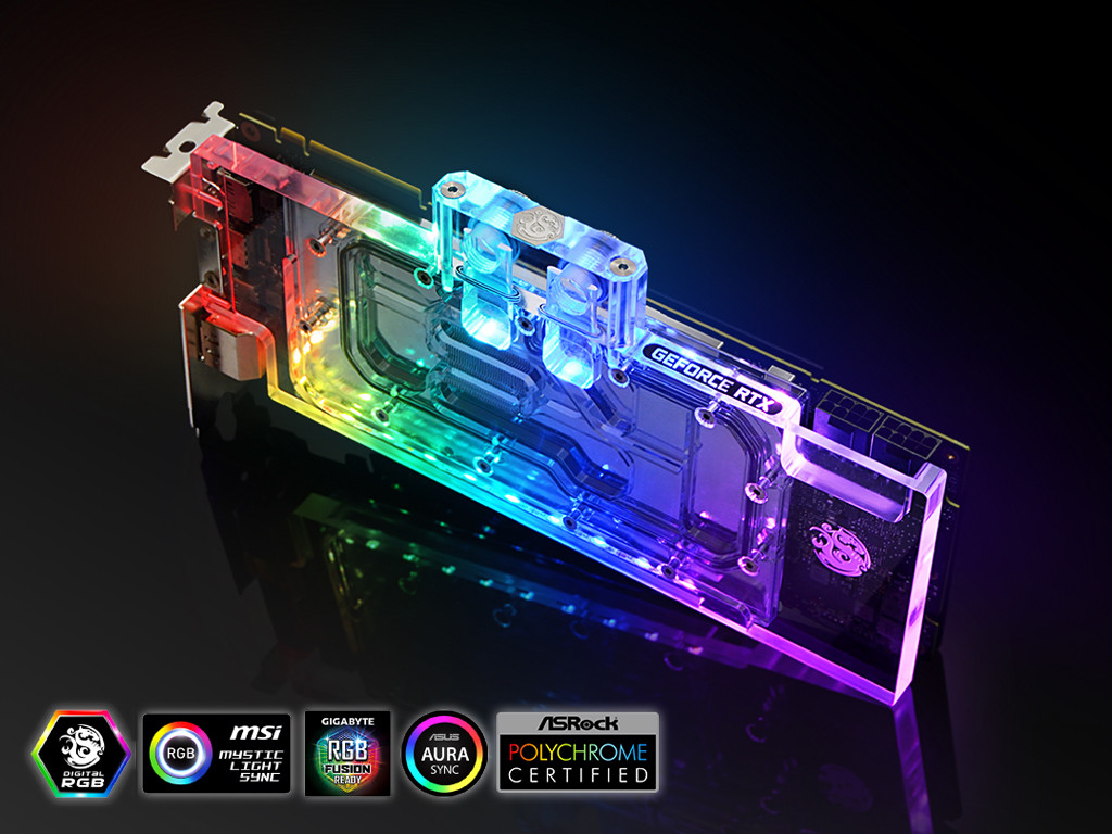 Bitspower Releases Lothan GPU Waterblock for NVIDIA GeForce RTX 20 Series