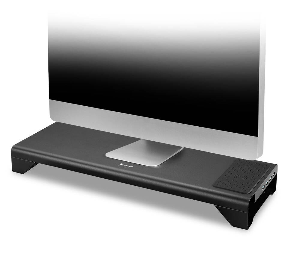 (PR) Sharkoon Monitor Stand PURE & POWER