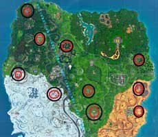 Here's Where To Find Fortnite Birthday Cake Dance Challenge Locations, Get On Down