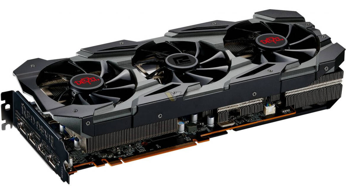PowerColor Radeon RX 5700 XT Red Devil Pictured