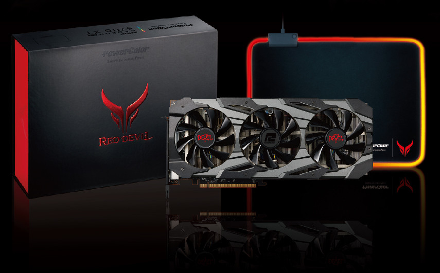 (PR) PowerColor Announces its Custom Navi Series Including Red Dragon and Red Devil Series
