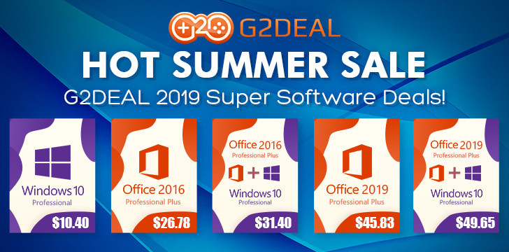 GoodOffer24 Your Back-to-School Software Buddy: Deep Discounts on Windows 10 and Office