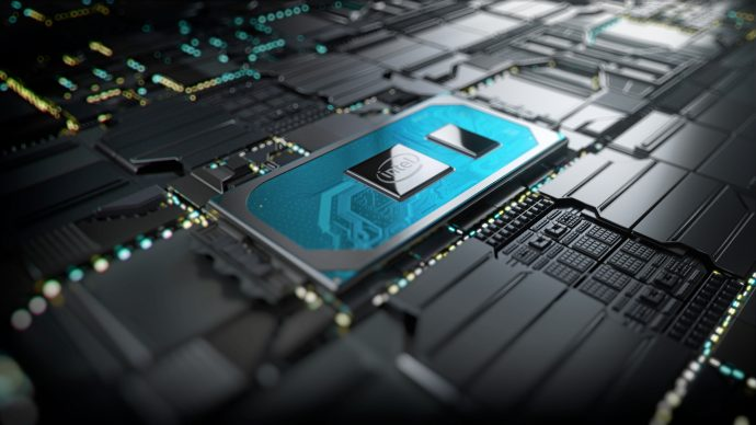10thGen Chip on Motherboard