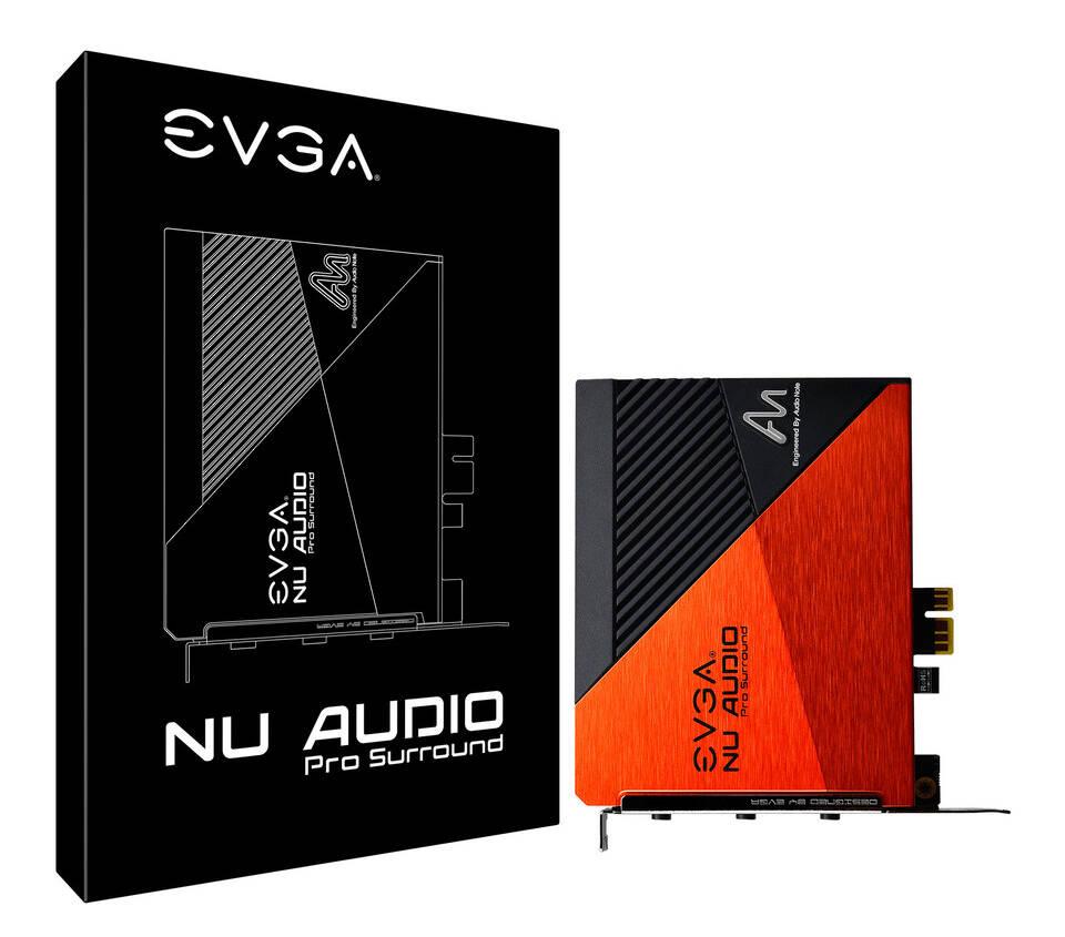 (PR) EVGA Announces the NU Audio Pro 7.1 Sound Cards