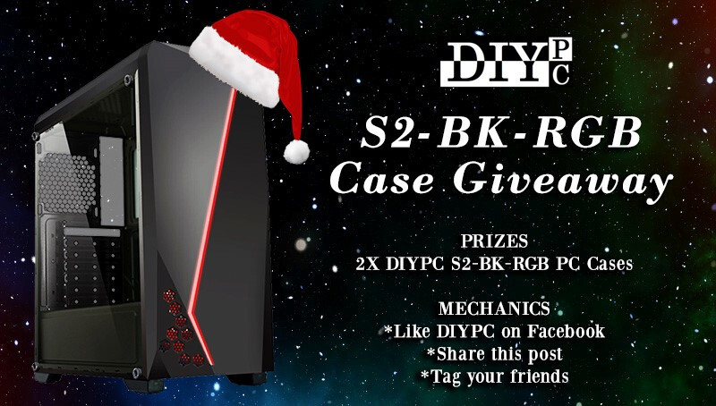 TechPowerUp and DIYPC S2-BK-RGB Case Giveaway: The Winners