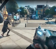 Ubisoft's Hyper Scape Battle Royale Shooter Scores Twitch Gold, Beta Access Keys Now Dropping