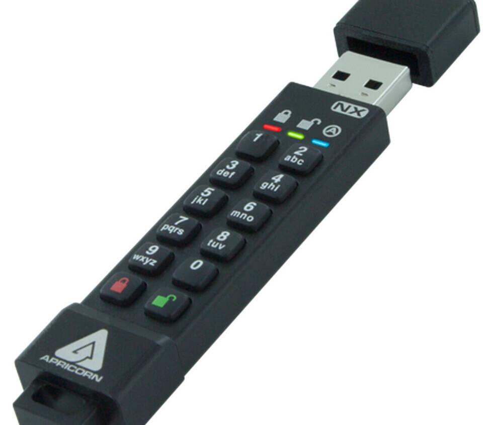 (PR) Apricorn's Aegis Secure Key 3NX USB 3.2 Flash Key Receives FIPS 140-2 Level 3 Validation