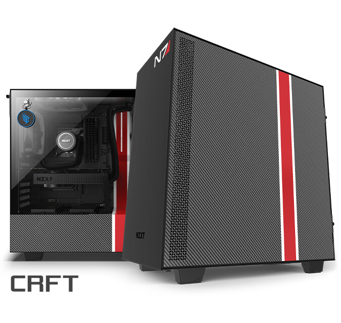 (PR) NZXT Announces Limited Edition CRFT 07 H510i Mass Effect Case