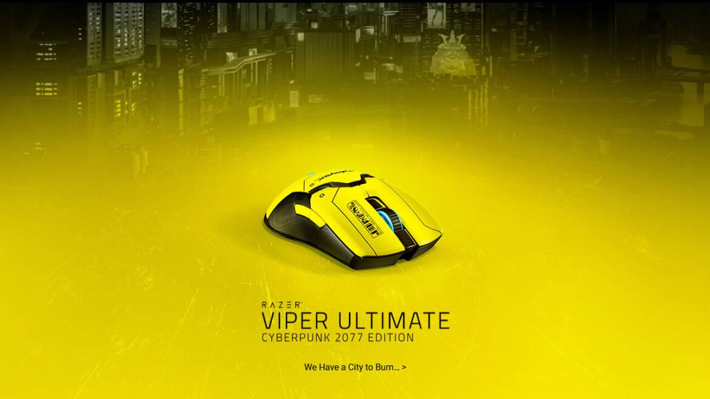 Razer Prepares Viper Ultimate Cyberpunk 2077 Edition Mouse