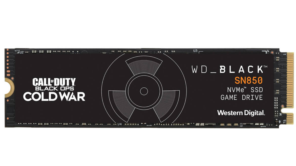 (PR) Western Digital Launches Call of Duty Black Ops Cold War Branded Gaming Storage