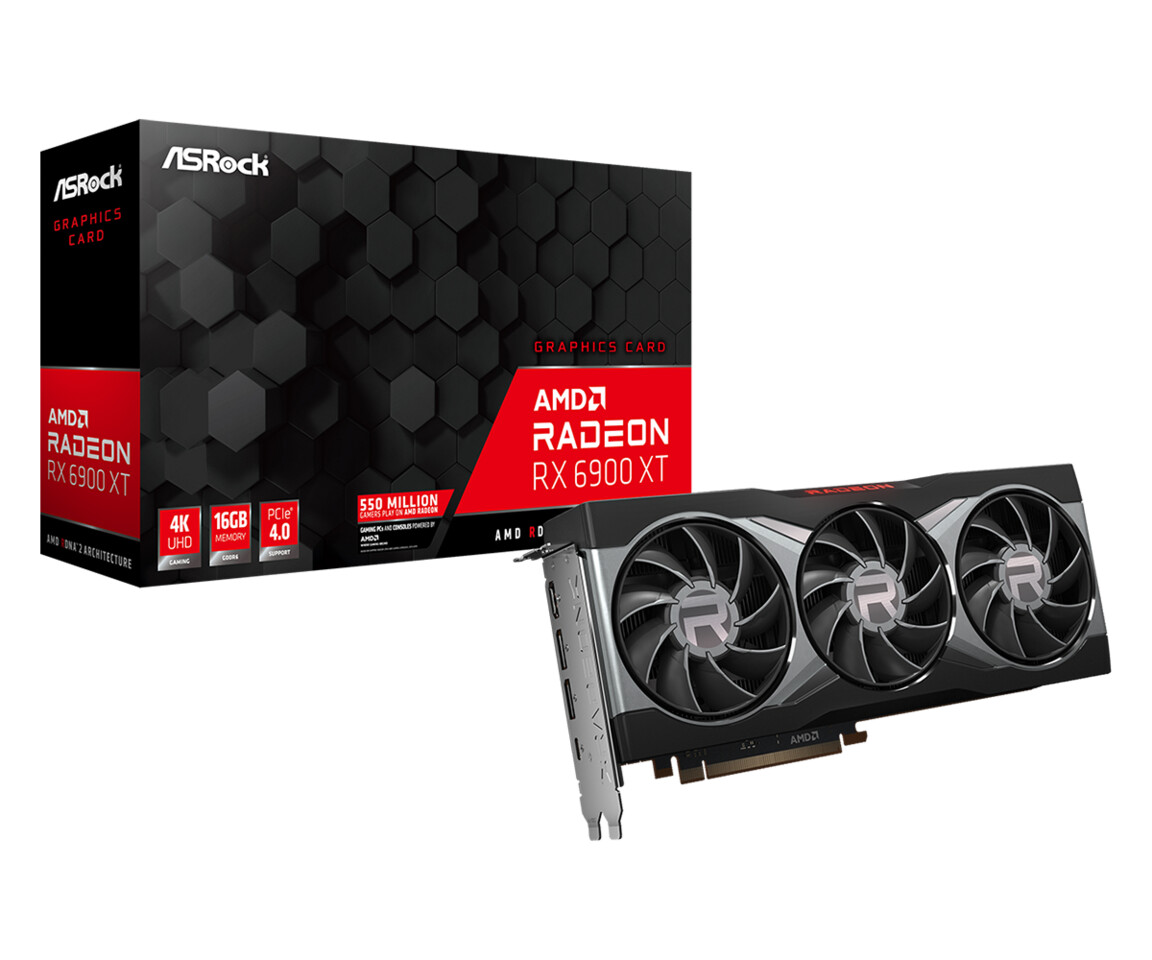 ASRock Launches Radeon RX 6900 XT Reference Design Graphics Card