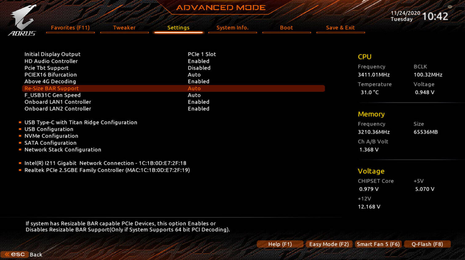 (PR) GIGABYTE Releases Resizable BAR Support for AMD 500-series Motherboards via BIOS Updates
