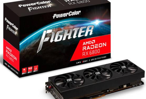 (PR) PowerColor Announces Radeon RX 6800 FIGHTER Graphics Card