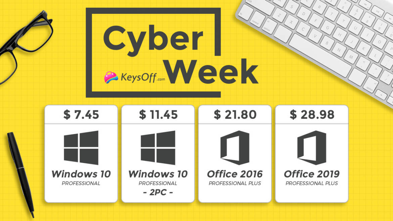 KeysOff Presents Cyber Week Sale on Discounted Genuine Software