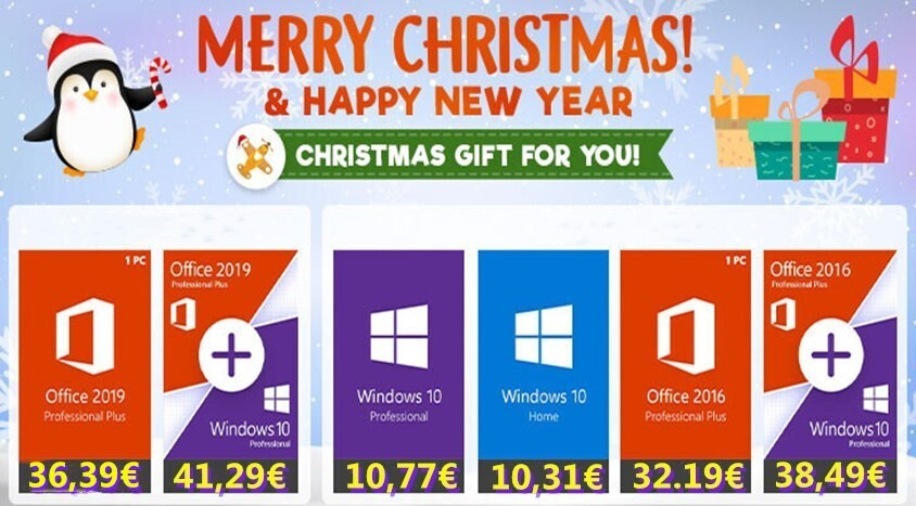 GoodOffer24 Year-end Sale: Christmas Comes Early with Discounted Genuine Software