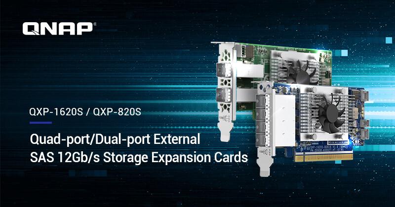 (PR) QNAP Announces External SAS Expansion Cards for its NAS