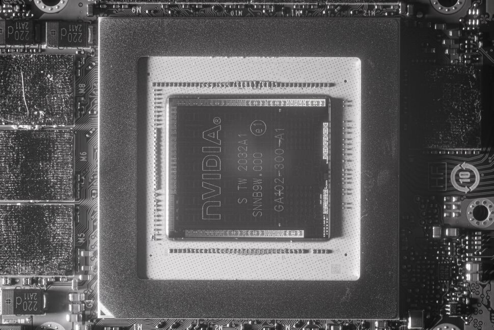 NVIDIA RTX 30-series GA102 IR Photographs Appear, Expose Silicon Inner Workings