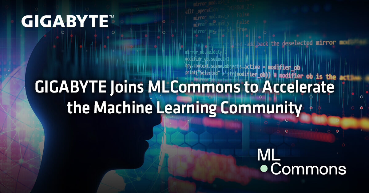 (PR) GIGABYTE Joins MLCommons to Accelerate the Machine Learning Community