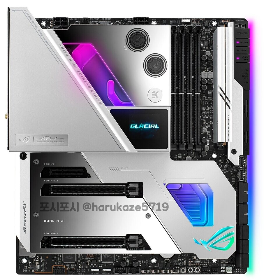 ASUS Z590 ROG Maximus XIII, TUF, & PRIME Motherboards Pictured